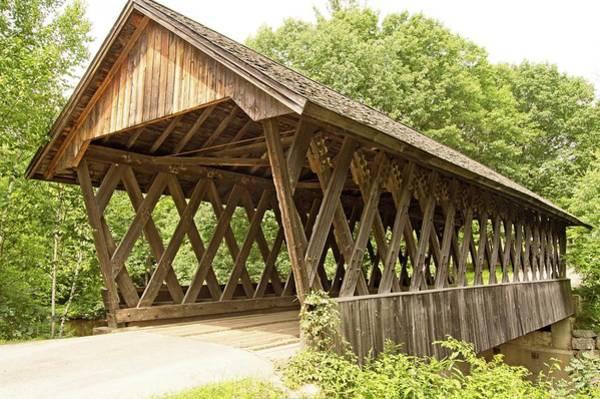 Wall Art - Photograph - New Hampshire Bridge #15 by Charles HALL