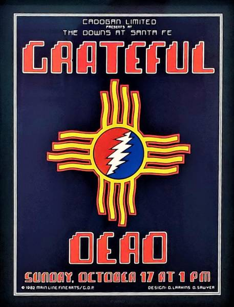 Photograph - New Mexico Greatful Dead Show, by Rob Hans
