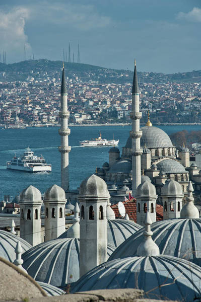 Suleymaniye Mosque Photograph - New Mosque by Salvator Barki