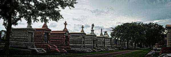 Photograph - New Oreans Cemetery Hdr by Maggy Marsh
