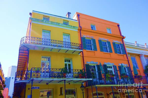Photograph - New Orleans Balconies In The French Quarter by Susan Carella