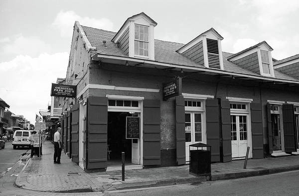 Photograph - New Orleans - Bourbon Street 2004 #13 by Frank Romeo