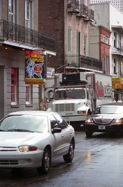 Photograph - New Orleans Bourbon Street 2004 #49 by Frank Romeo