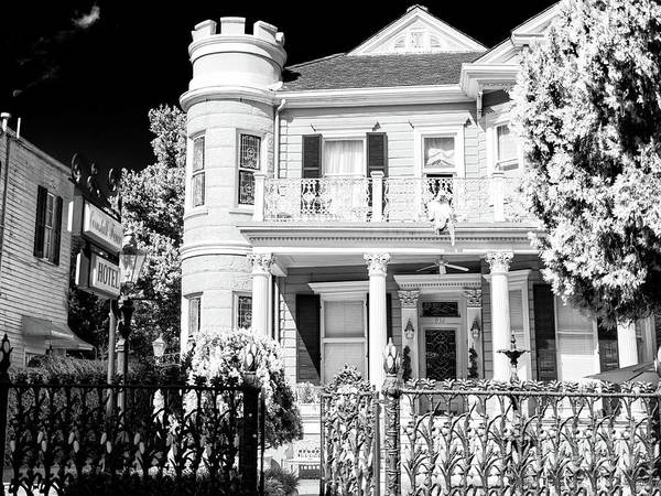 Photograph - New Orleans Cornstalk Hotel by John Rizzuto