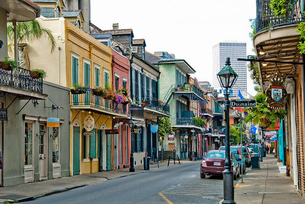 Louisiana Photograph - New Orleans French Quarter by Anne Rippy