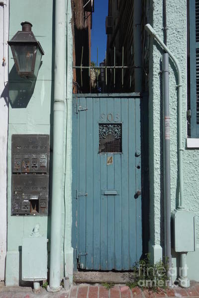 Photograph - New Orleans French Quarter Doorway  by Susan Carella