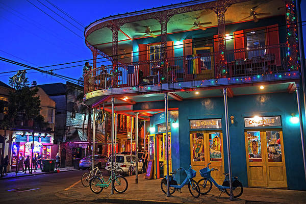 Photograph - New Orleans Frenchmen Street Balcony New Orleans Louisiana La by Toby McGuire