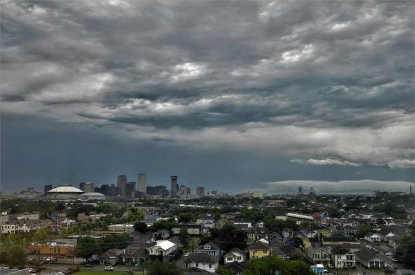 Wall Art - Photograph - New Orleans Louisiana After A Storm by Michael Hoard