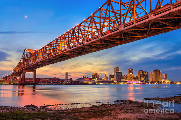 Wall Art - Photograph - New Orleans, Louisiana, Usa At Crescent by Sean Pavone