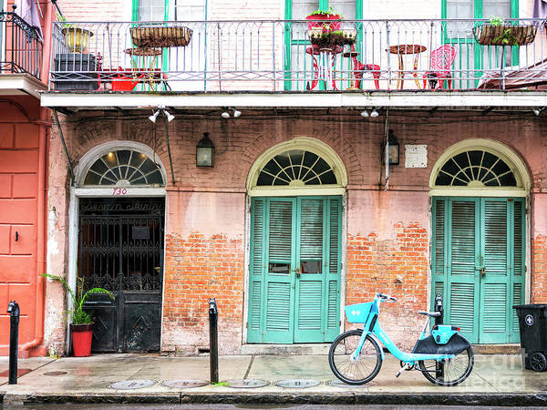 Photograph - New Orleans Open Door In The French Quarter by John Rizzuto