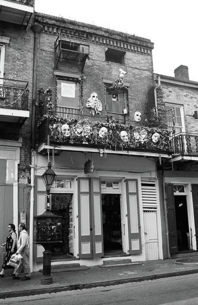 Photograph - New Orleans Shops 2004 #2 by Frank Romeo