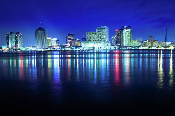 Louisiana Photograph - New Orleans Skyline by Lightkey
