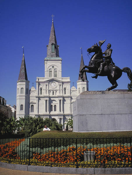 Wall Art - Photograph - New Orleans, St. Louis Cathedral And by Jvt