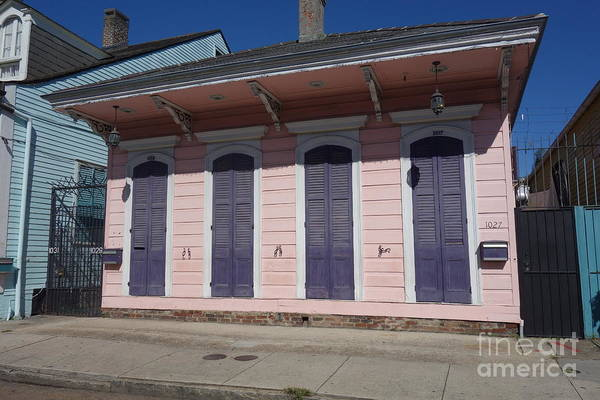 Photograph - New Orleans Style - The French Quarter Home by Susan Carella