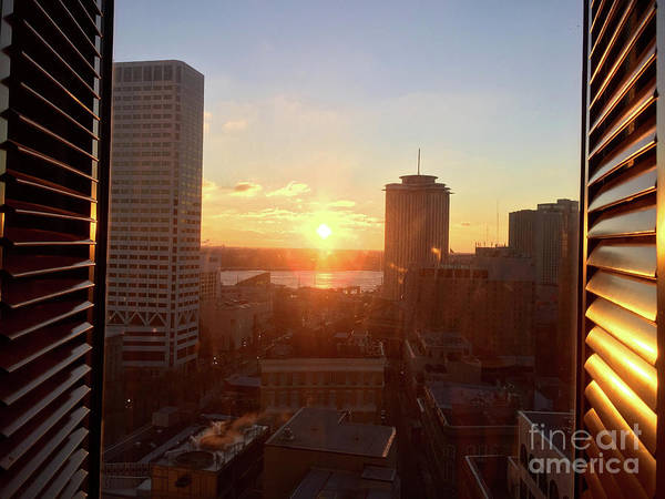 Wall Art - Photograph - New Orleans Sunset by Andrew Dinh