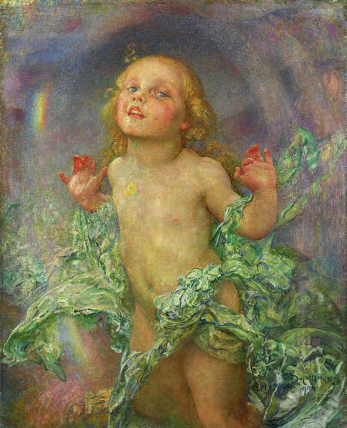 Wall Art - Painting - New Risen Hope by Annie Swynnerton
