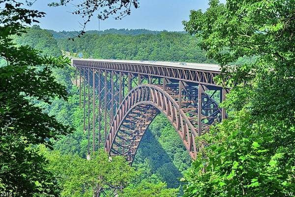 Photograph - New River Gorge And Bridge West Virginia by Lisa Wooten