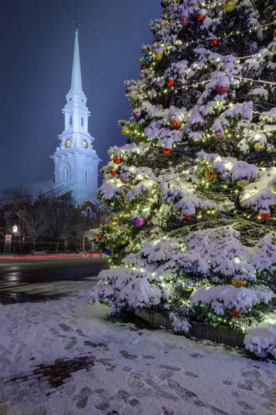 Photograph - New Snow For Christmas by Jeff Sinon