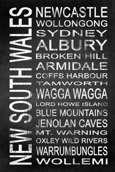 Wall Art - Digital Art - New South Wales Australia 2 by Melissa Smith