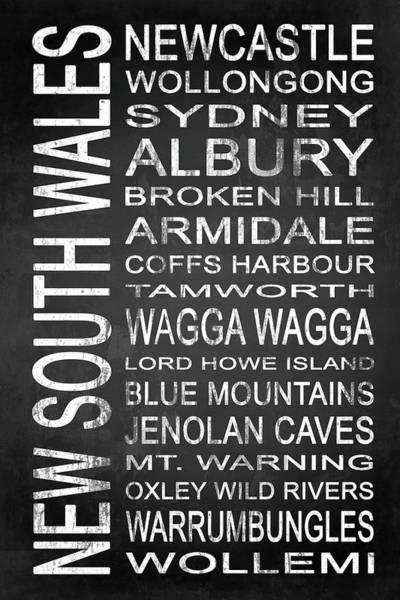 Newcastle Digital Art - New South Wales Australia 2 by Melissa Smith