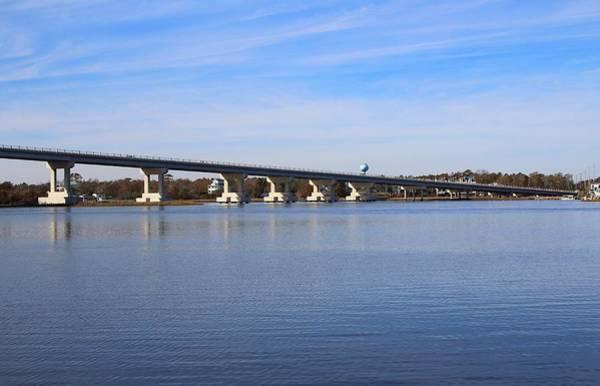 Photograph - New Surf City Bridge by Cynthia Guinn