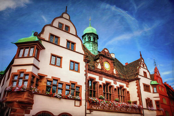 Deutschland Photograph - New Town Hall Freiburg Germany by Carol Japp