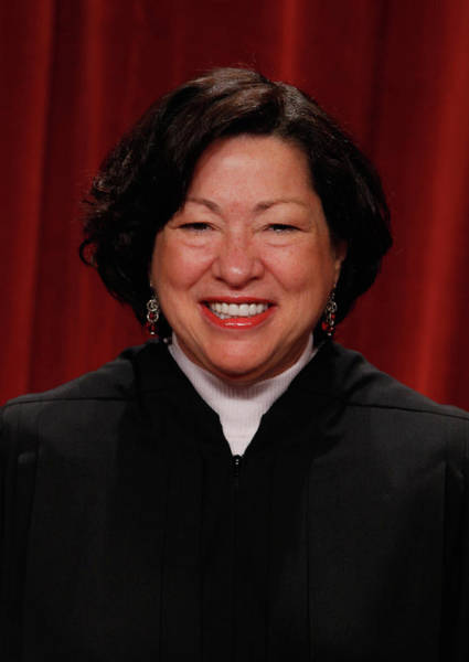 Court Photograph - New U.s. Supreme Court Poses For Class by Chip Somodevilla