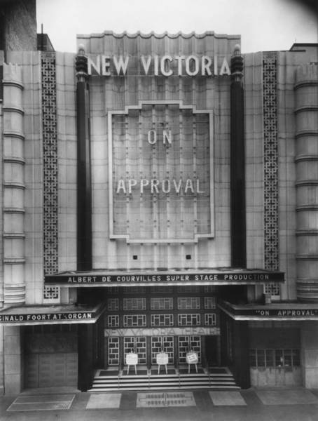 Photograph - New Victoria Cinema by Sasha