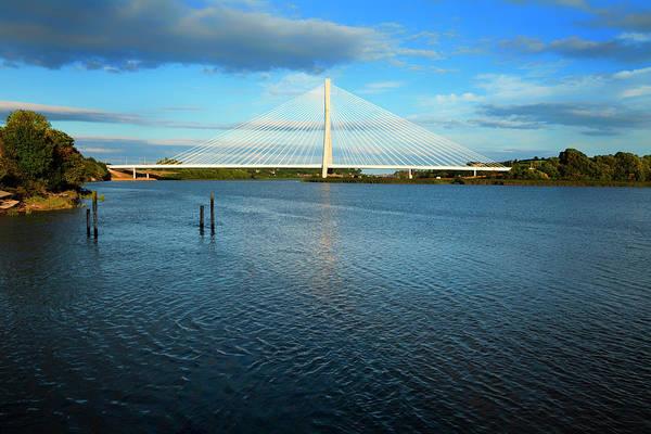 Suir Photograph - New Waterford Suir Bridge, The Longest by Panoramic Images