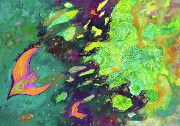 New Wind - #ss19dw011 Art Print by Satomi Sugimoto