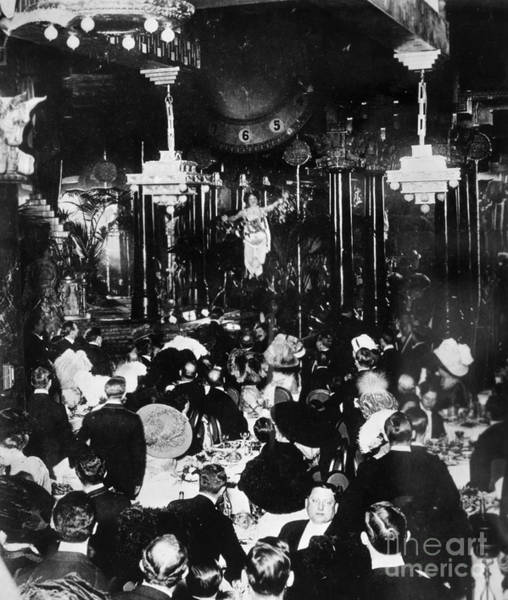 Photograph - New Year's Eve Party, 1905 by Granger