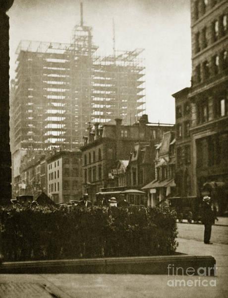 Back In The Day Photograph - New York City, 1910 By Alfred Stieglitz by Alfred Stieglitz