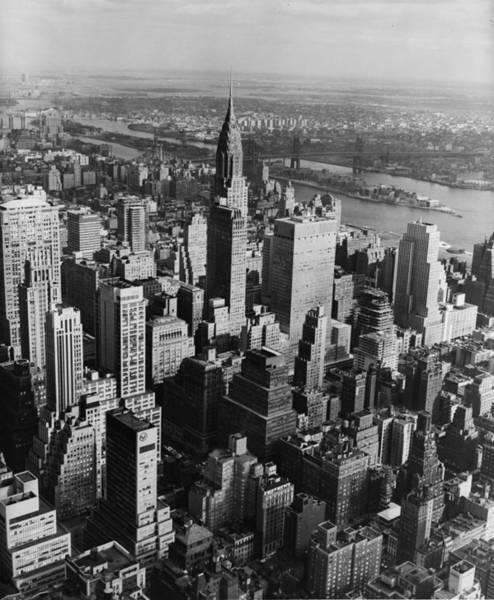 1961 Photograph - New York City by Dobson