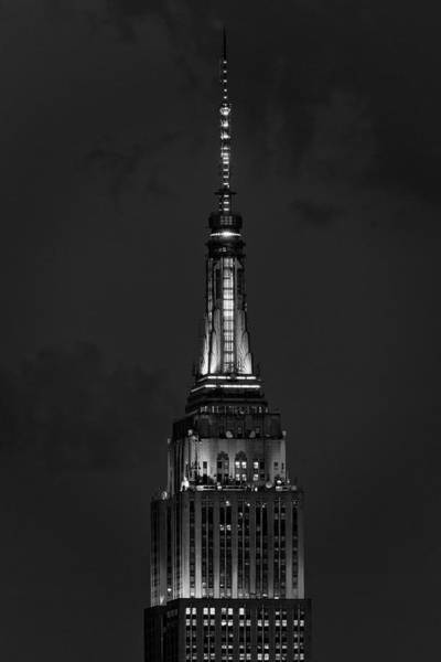 Photograph - New York City Esb Pride Bw by Susan Candelario