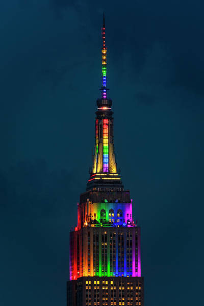 Wall Art - Photograph - New York City Esb Pride by Susan Candelario