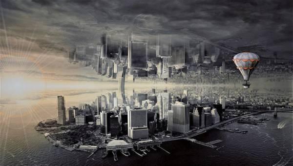 Wall Art - Digital Art - New York City - Manhattan by ArtMarketJapan
