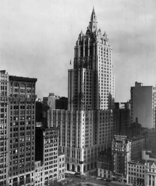 Insurance Photograph - New York City Scene by Hulton Archive