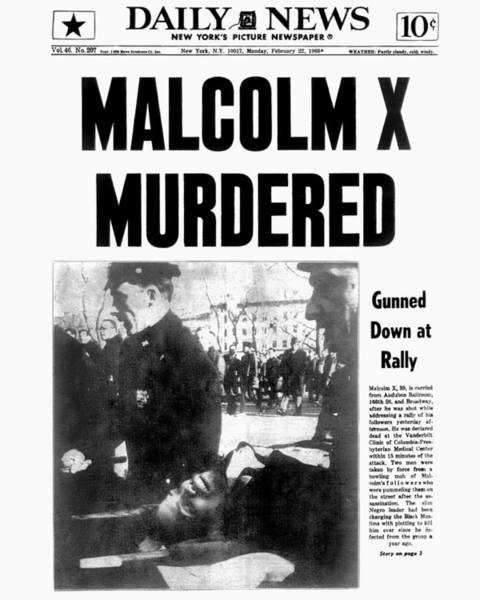 Front Page Photograph - New York Daily News Front Page Dated by New York Daily News Archive