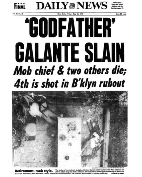 Front Page Photograph - New York Daily News Front Page July 13 by New York Daily News Archive