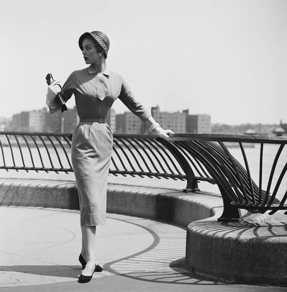 Photograph - New York Fashion Design by Slim Aarons