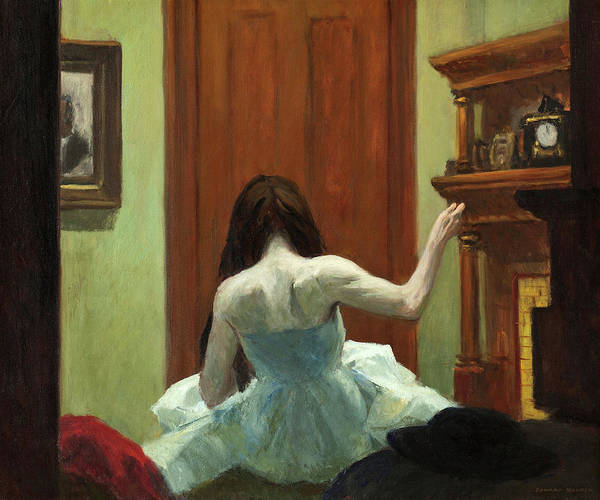 Wall Art - Painting - New York Interior, 1921 by Edward Hopper
