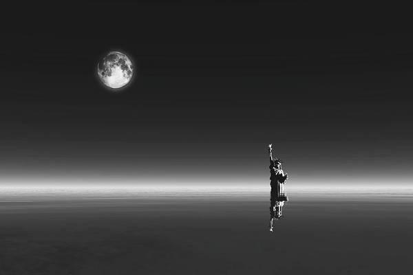 Digital Art - New York by Jan Keteleer