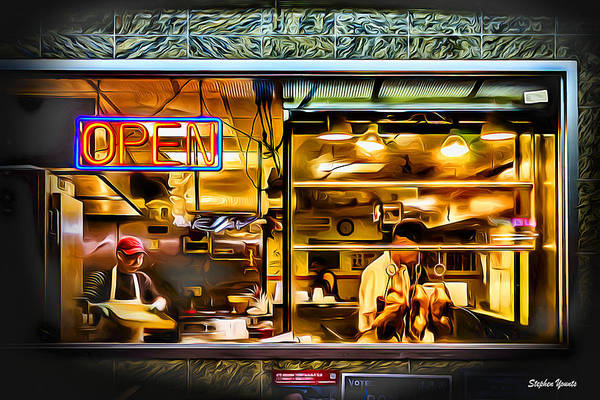 Wall Art - Digital Art - New York Kitchen by Stephen Younts
