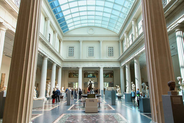 Ancient Greek Photograph - New York, Metropolitan Museum Of Art by Sylvain Sonnet
