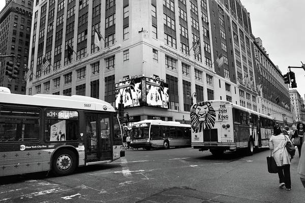 Photograph - New York, New York 9 by Ron Cline
