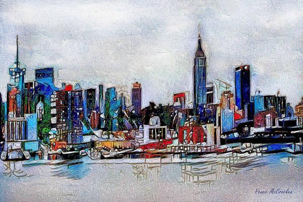 Digital Art - New York, New York by Pennie McCracken