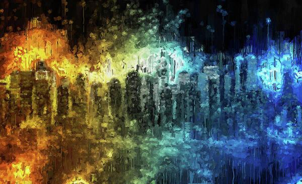 Painting - New York Panorama - 33 by Andrea Mazzocchetti