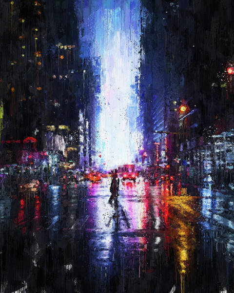 Painting - New York Panorama - 58 by Andrea Mazzocchetti