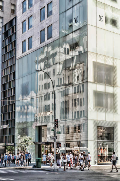Photograph - New York Reflection by Sharon Popek