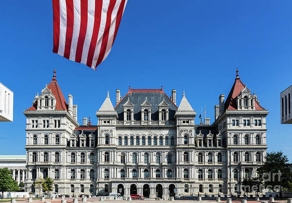 Wall Art - Photograph - New York State Capitol Building by John Greim